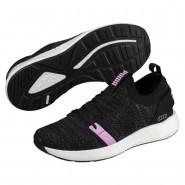 Puma NRGY Neko Training Shoes Womens Black-Iron Gate-Orchid (772PENYH)