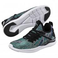 Puma IGNITE Flash Shoes Womens Navigate-Black-White (772URASY)