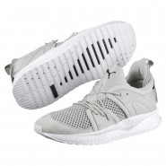 Puma TSUGI Running Shoes Mens Gray Violet-White (775GPNEB)