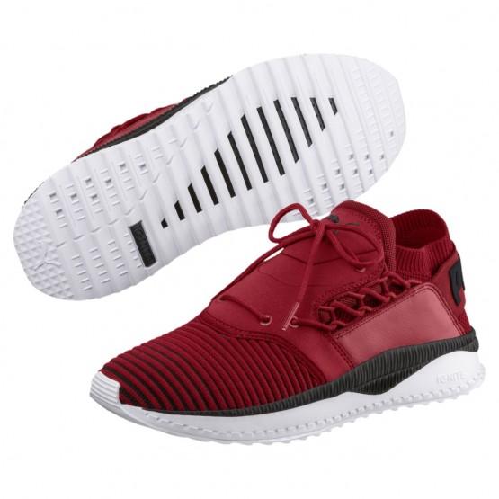 Puma TSUGI SHINSEI Shoes Mens Red Dahlia-Black-Pwhite (776LERBC)