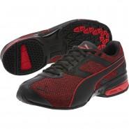 Puma Tazon 6 Shoes Mens Black-Toreador (776PICQT)