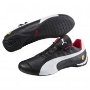 Puma Ferrari Shoes Mens Black-White-Black (781ZGTOX)