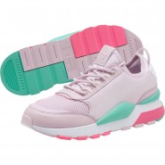 Puma RS-0 Play Shoes Womens Pink (794EBXMY)