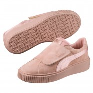 Puma Platform Shoes Womens Peach Beige-Peach Beige-Rose (794GRMCA)