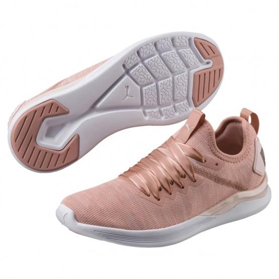 Puma IGNITE Flash Shoes Womens Peach Beige-Pearl-White (794UNSWA)