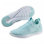Puma IGNITE Flash Running Shoes Womens Island-Whisper White-White (798PXSRG)