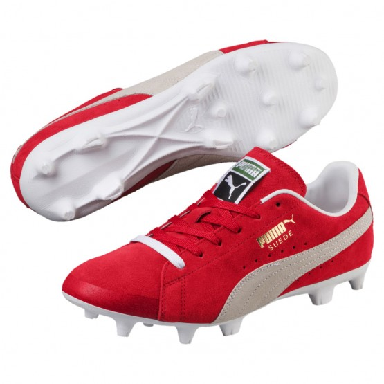 Chaussure Outdoor Puma FUTURE Homme Rouge/Blanche (802HNSCB)