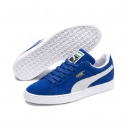Puma Suede Classic Shoes Mens Olympian Blue-White (804IZNBQ)