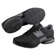 Puma Cell Shoes Mens Black-Quiet Shade (810PNMYC)