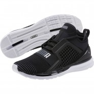 Puma IGNITE Limitless Running Shoes Mens Black-Quiet Shade (813UABRM)