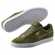 Puma Suede Classic Shoes Mens Capulet Olive (813UTYPZ)