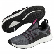 Puma NRGY Neko Training Shoes Womens Black-Knockout Pink (817IMGVY)