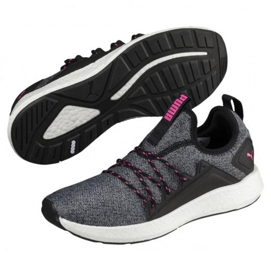 Puma NRGY Neko Training Shoes Womens Black-Knockout Pink (817IMGVY)