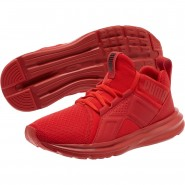 Puma Enzo Shoes Boys High Risk Red (824MYPQL)