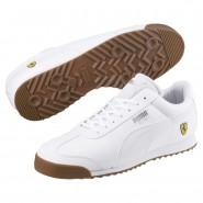 Puma Scuderia Ferrari Shoes Mens White-White (829UKSGO)