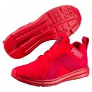 Puma Enzo Shoes Mens High Risk Red (831LFZJR)