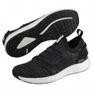 Puma NRGY Neko Shoes Mens Black-Iron Gate (856DCRNH)