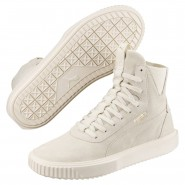 Puma Breaker Hi Evolution Shoes Mens Whisper White-Whisper White (863OGENC)