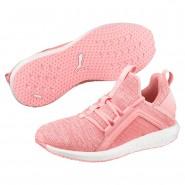 Puma Mega NRGY Training Shoes Womens Soft Fluo Peach-White (864GELIW)