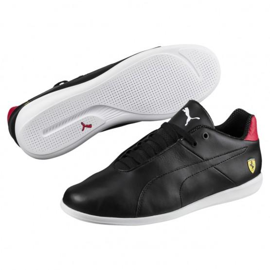 Puma Ferrari Shoes Mens Black-Blk-Rosso Corsa (864KFYXL)