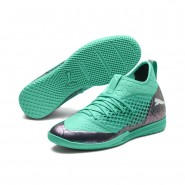 Puma FUTURE Indoor Shoes Mens Col Shift-Green-White-Black (869SIJTH)