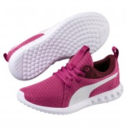 Puma Carson 2 Shoes Boys Magenta Haze-Fig-White (872EDKNI)