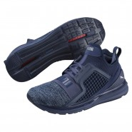 Puma IGNITE Limitless Running Shoes Mens Blue Indigo-Infinity (873LXUMW)