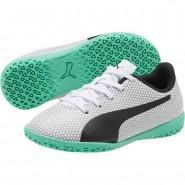 Chaussure Puma Spirit Garcon Blanche/Noir/Argent (873RWQBD)