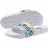 Puma x COOGI Sandals Womens White-Gold (874FWNQP)