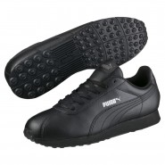 Puma Turin Shoes Mens Black-Black (875AFCSJ)