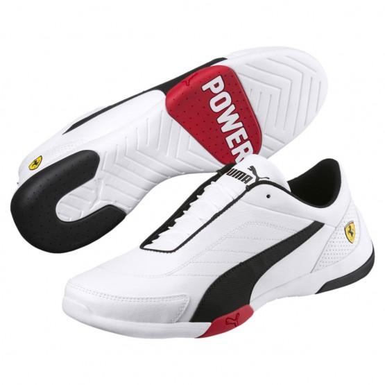 Puma Scuderia Ferrari Shoes Mens White-Black (875RHBMU)