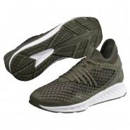 Puma IGNITE NETFIT Shoes Mens Forest Night-Castor Gray (884GULXE)