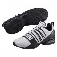 Puma Cell Shoes Mens White-Black (904VSPUO)