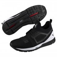 Puma IGNITE Limitless Shoes Mens Black-White (909GMWBP)