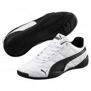 Puma Tune Cat 3 Shoes Boys White-Black (912FZUIL)