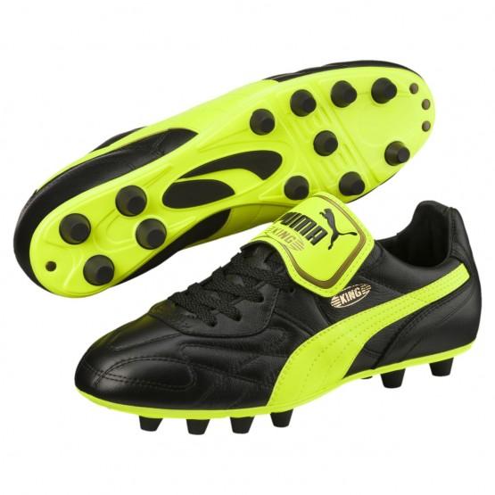 Chaussure de Foot Puma King Homme Vert/Noir (915UNPLD)