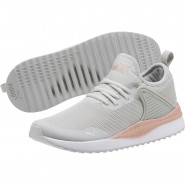 Puma Pacer Next Running Shoes Womens Gray Violet-Rose Gold (927ZVUAD)