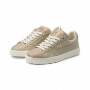 Puma Suede Shoes Womens Birch-Team Gold (929ZNXBC)