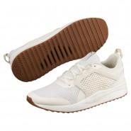 Puma Pacer Next Shoes Mens Wh White-Whi White-Whi White (937WFHUQ)