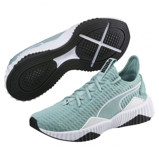 Puma Defy Training Shoes Womens Aquifer-White (943MQJPA)