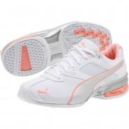 Chaussure De Sport Puma Tazon 6 Femme Blanche/Argent (943NIEZX)