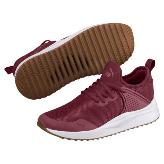 Puma Pacer Next Shoes Boys Pomegranate-Pomegranate (948JOWHN)