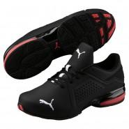 Chaussure Puma Viz Runner Homme Noir/Blanche (950EAUTK)