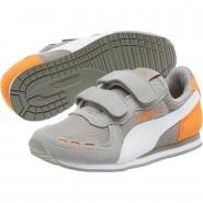 Chaussure Puma Cabana Racer Garcon Blanche (950SWNHJ)