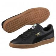 Puma Basket Classic Shoes Mens Black (950ZSOWX)