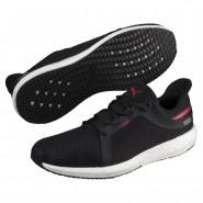 Puma Mega NRGY Running Shoes Mens Black-Ribbon Red (954MJUDS)
