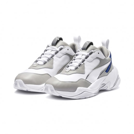 Puma Thunder Electric Lifestyle Shoes Womens White-Gray Violet-White (955QCZWO)
