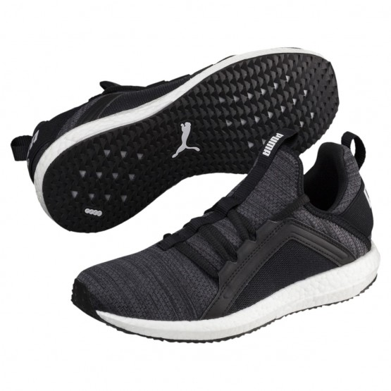 Puma Mega NRGY Shoes Boys Iron Gate-Black-White (961TDIWL)
