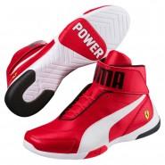Puma Scuderia Ferrari Shoes Mens Rosso Corsa-White (990DOEAK)