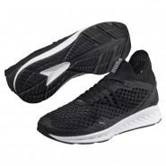 Puma IGNITE NETFIT Shoes Mens Black-Quiet Shade (993RGKOM)